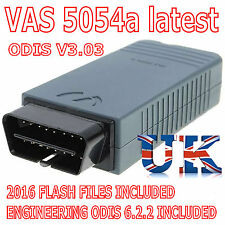 FULL CHIP VAS 5054A ODIS 3.0.3 Bluetooth OBD2 Diagnostic Tool UDS OKI VW
