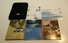 2005 FORD ESCAPE OWNERS MANUAL XLT LIMITED XLS 4WD 2WD 3.0L V6  2.3L AUTO MANUAL