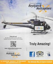 REYKJAVIK HELICOPTERS ICELAND SIGHTSEEING CHARTER TOURS BROCHURE