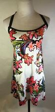 Nanette Lepore Swim Women's Tropical Floral Strappy Coverup Size XS New $124