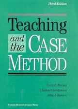 Teaching and the Case Method: Text, Cases, and Readings, Louis B. Barnes, C. Rol