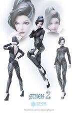 Coreplayer Fitness Body 2.0 1:6th Female Collectible Figure Gray Limited  New