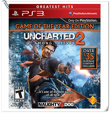 PS3 Uncharted 2 Among Thieves Sony PlayStation SCE Action Games