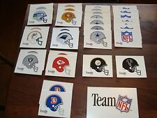 Early 90's Team NFL Official Licensed Product Display Signs