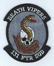"131st FIGHTER SQUADRON ""DEATH VIPERS"" patch"