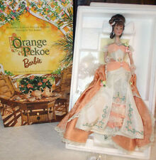 Orange Pekoe Barbie Victorian Tea Porcelain Collection  MIB
