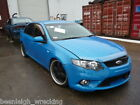 FORD FALCON FG XR6 6 SPEED MANUAL WRECKING. DASH CLUSTER 73KM BLUE SILVER