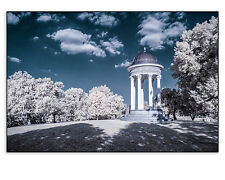 "Original Fine Art Photo 8x10"" Print Color Infrared Mount Storm Park IR Blue Sky"