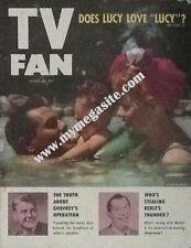 LUCILLE BALL - TV FAN MAGAZINE -  AUGUST 1953 - W/ MILTON BURLE & ARTHUR GODFREY