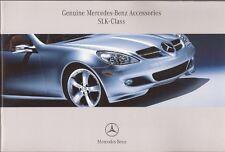 2007 07 Mercedes Benz SLK Accessories brochure MINT