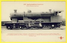 "cpa LOCOMOTIVE (Angleterre) Great Western Railway Type ""PACIFIC"" Belfort 1904"