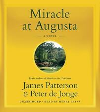 MIRACLE AT AUGUSTA unabridged audio book on CD by JAMES PATTERSON