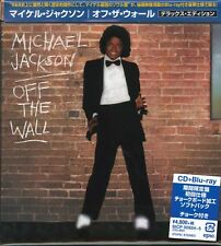 MICHAEL JACKSON-OFF THE WALL DELUXE ED-JAPAN 2 Blu-spec CD2 w/Blu-ray L60