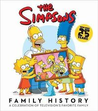 The Simpsons Family History: A Celebration of Television's Favorite Family...NEW