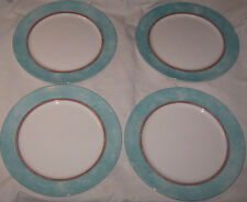 "4 Royal Doulton Everyday Fine China Charger Trailfinder 12"" Plates Free Ship USA"