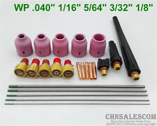 23 pcs TIG Welding Torch Gas Lens parts Kit for WP-9 WP-20 WP-25 WP Tungsten