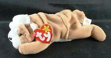 TY Beanie Babies WRINKLES Bulldog, 1996 PVC Pellets