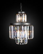 "15"" 8-LIGHT Vintage  industry Odeon Style Crystal  Restoration CHANDELIER"
