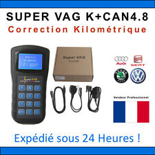 SUPER VAG K+CAN 4.8 - Diagnostique & Correction Kilométrique TACHO PRO COM VAG