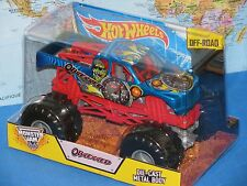 1/24 HOT WHEELS MONSTER JAM TRUCK OBSESSED DIECAST METAL OFF-ROAD BRAND NEW RARE