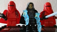 Star Wars Force Awakens Emperor Darth Sidious & 2 Guards Free lego Gun UK STOCK