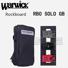 Warwick Guitar Effects Pedal Gig Bag case With Straps Small Size Pedalboard Solo
