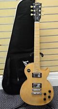 "*2009 Gibson Les Paul Studio ""Raw Power"" Natural Wood Finish Electric Guitar"