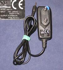 Chargeur Original MAXCOM MANTA MM131 5V 0.5A 2mm/0.7mm
