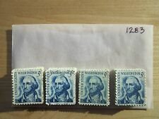 # 1283 x 100 Used US Stamps Lot  George Washington Issue  See our other lots
