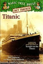 TITANIC Fact Tracker MAGIC TREE HOUSE Research Guide NEW Paperback BOOK History