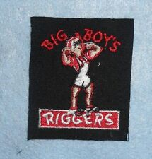 "Big Boy's Riggers Patch - Rigging & Trucking - 2 3/8"" x 2 7/8"""