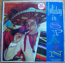 "LEW RAYMOND ORCHESTRA, ""HOLIDAY IN SPAIN"". LP RECORD ALBUM. (1957)(JN)."