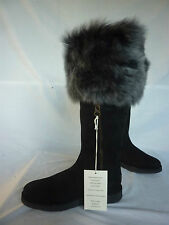 BNIB UGG COLL ITALY LAMB FUR SHEEPSKIN BOOTS W6 UK 4.5 £450 BOX BAG RECEIPT £450