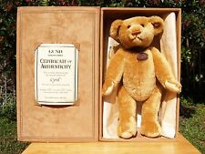 "GUND TREASURED TEDDIES-MOHAIR CYRIL BEAR-#95029-16""-2008-LTD 100/500-NEW IN BOX"
