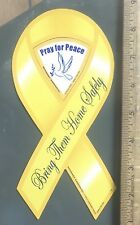 Pray For Peace – Bring Them Home Safely Magnetic Ribbon