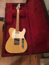 Vintage Fender Butterscotch Blonde Squier e series korea Telecaster Rare Tele