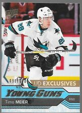 16/17 Upper Deck Young Guns Exclusives Rookie Timo Meier /100 479 Sharks