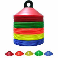 100 Multi Color Disc Cones Athletic Field Marking for Team Sports