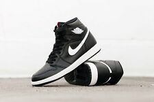 2016 Nike Air Jordan 1 Retro High OG SZ 10.5 White Black Yin Yang Red 555088-011