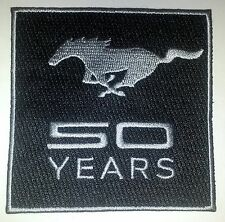 Mustang 50 Years Patch - Celebrate the 50th Anniversary With This EXCLUSIVE Item