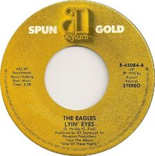 """THE EAGLES Lyin' Eyes Take It To The Limit  7"""" Vinyl Single EXCELLENT CONDITION"""