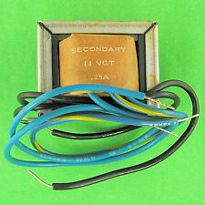 Stancor 14VCT 1/4 Amp Transformer 115VAC In, 7V / 14V AC .25A Out, Good Quality