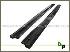 06-11 BMW E90 320i 328i 4Dr w/ M Tech Carbon Fiber Side Skirts Extension Lip