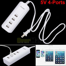 5V 4-Ports USB Wall Charger Power Adapter Multi-function Charger For Cell Phone