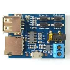 TF card U disk MP3 Format decoder board amplifier decoding audio Player module