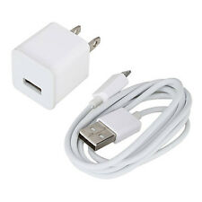Power Adaptor Charger USB Data Sync Charge Cable For Apple iPhone iTouch Nano