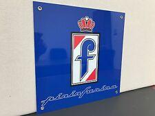 RARE Pininfarina wall sign baked Ferrari Alfa Romeo fiat Peugeot