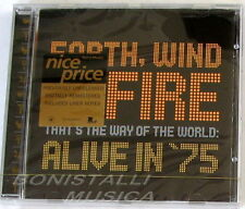 EARTH, WIND & FIRE - THAT'S THE WAY OF THE WORLD: ALIVE 1975 - CD Sigillato
