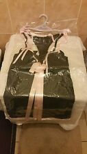 Ann Summers Mia Black & Pink Babydoll + Tie Sided Thong Size 10 - 12  NWOT
