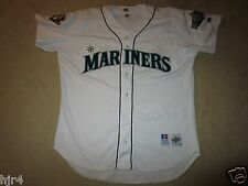 Seattle Mariners 2001 Russell Athletic All Star Patch MLB Game Jersey 48